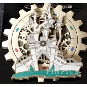 Castle Mechanical Kingdom Surprise Series Pin Trading Mickey Mouse Walt Disney World WDW Disneyland