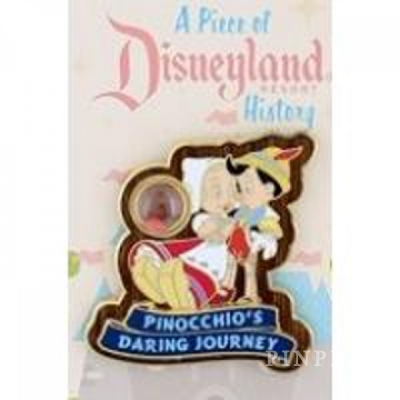 42a75b9e7607 Pin  99024. DLR - Piece of Disney History 2013 - Pinocchio s Daring Jour