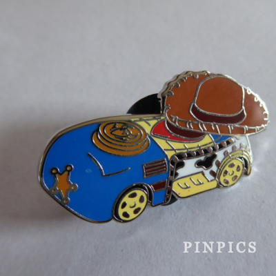 2016 Racers Cars Mystery Steamboat Willie Disney Pin