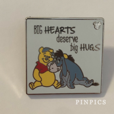 DLR Hidden Mickey 2019 Winnie the Pooh Quotes Be Happy Disney Pin 134126