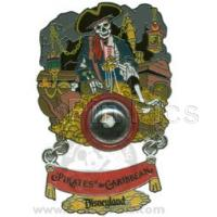 5874a309e8ac Pin  69166. DLR - Piece of Disney History I - Pirates of the Caribbean