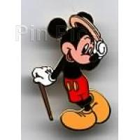 428e29e4feb Classic Mickey Tipping Hat   Leaning on Cane